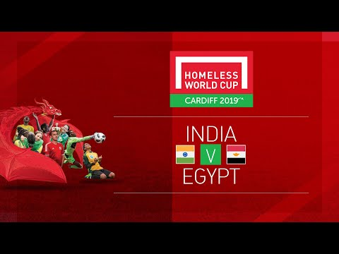India vs Egypt | Day 3, Pitch 1 | Homeless World Cup 2019