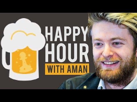 Aman Hambleton + Yasser Seirawan | Happy Hour #3