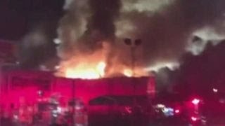 Fire rips through Oakland warehouse during party