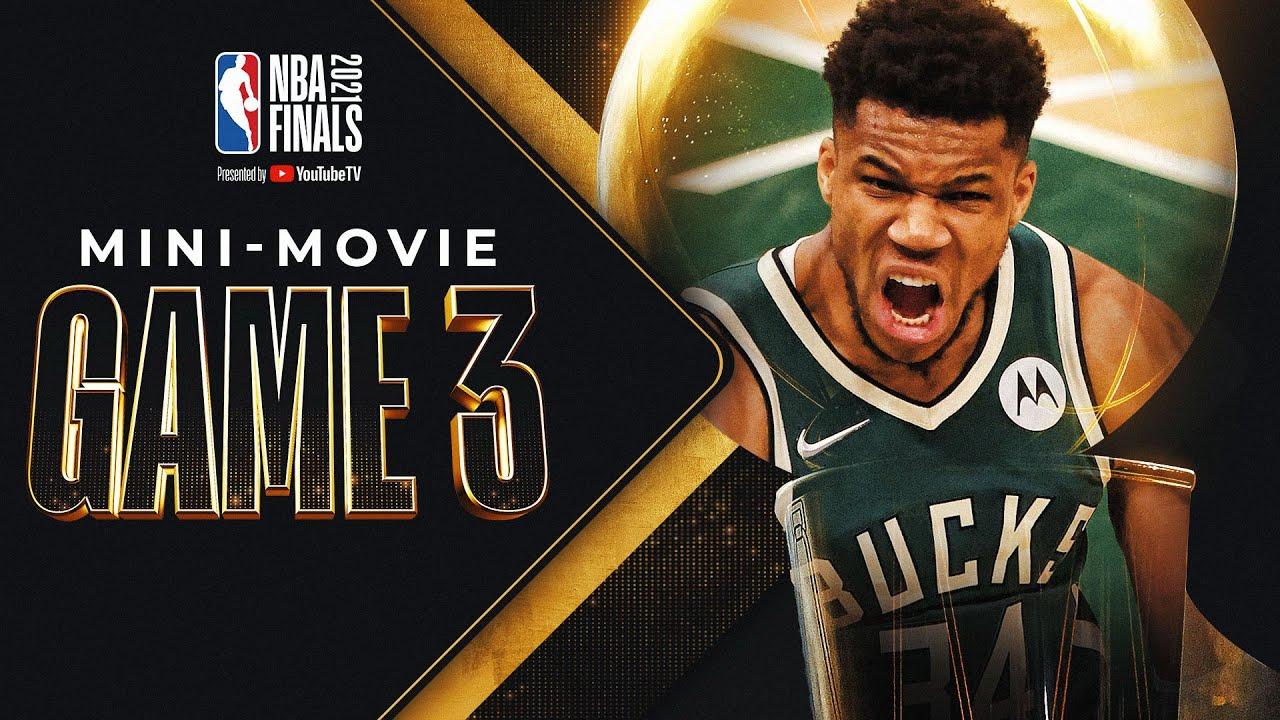 Bucks Bounce Back at Home: NBA Finals Game 3 MINI-MOVIE! 🍿