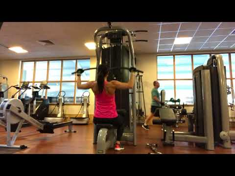 Wide Grip Front Lat Pulldown
