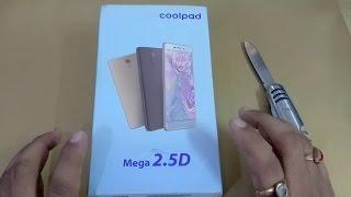 Coolpad Mega 2.5D UNBOXING - Black/Space Grey