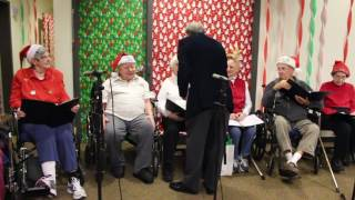 the brookmeade chorus perform for day 2 of our holiday concert series