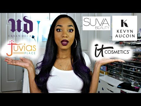 PR HAUL ❤ *NEW* Urban Decay, Kevyn Aucoin, Juvia's Place, SUVA Beauty ❤