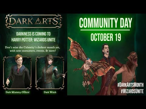 NEW ODDITIES CONFIRMED! DARK MINISTRY OFFICIAL AND DARK WITCH! COMMUNITY DAY DETAILS!