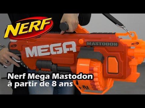 Nerf mega mastodon d mo du pistolet jouet en fran ais hd vdieos portal - Pistolet a colorier ...