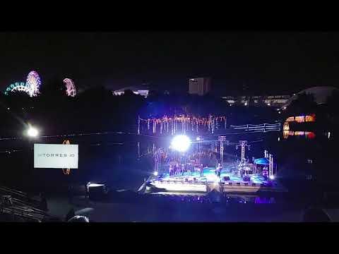 Grupo de rock Argentum en foro del lago 2018