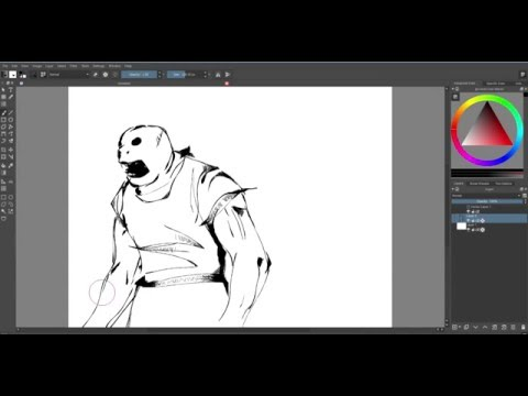 Krita Open Source Art Program Youtube