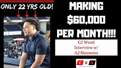 22 Year Old Making $60,000 Per Month Cleaning Buildings - CJ Wood Interview