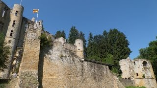 The castle ruins from Beaufort-Luxembourg***Burg Beaufort-Luxemburg