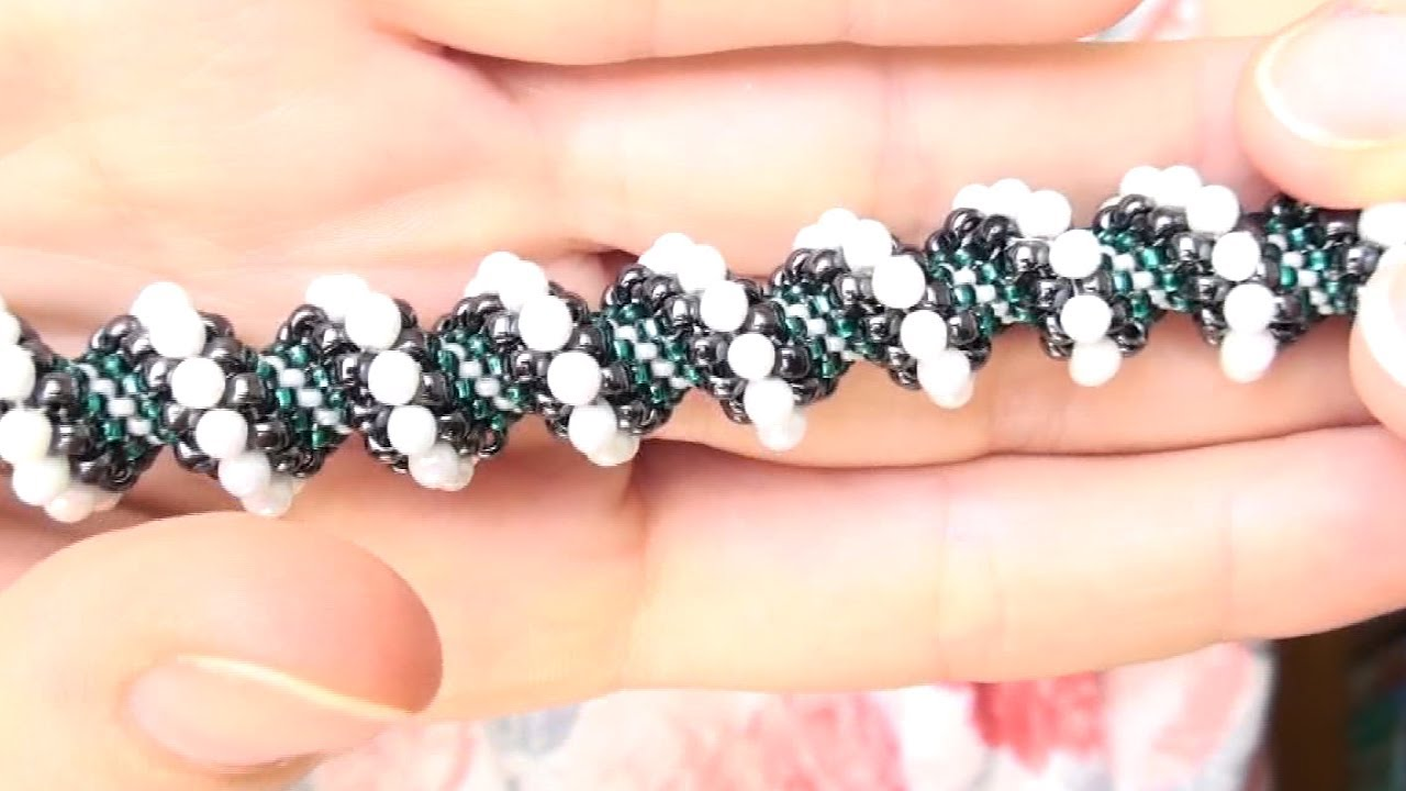 BeadsFriends: Beading tutorial - How to make a Cellini spiral ...