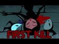 Samurai jack - Jack's first human kill - Reaction Compilation