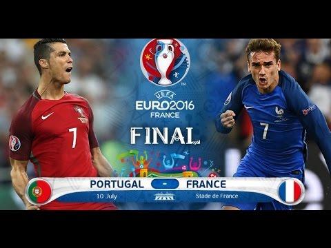 Francie - Portugalsko | Finále EURO 2016 | FIFA 16 |