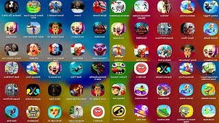 IceScream,IceScream2,ScaryTeacher,ShortRide,DumbDash,PvZ,BlockCraft,RobberyBob,