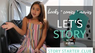 Let's Story with Avery: Smile by Raina Telgemeier