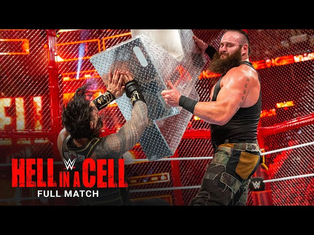FULL MATCH - Roman Reigns vs. Braun Strowman - Hell in a Cell Match: WWE Hell in a Cell 2018