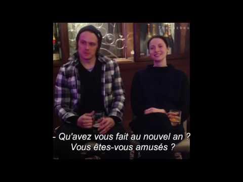[VOSTFR] Interview Q&A Sam Heughan & Caitriona Balfe - Outlander Saison 3 (21.01.17)