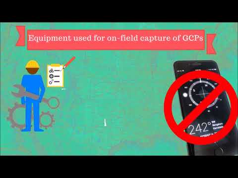 The Ultimate Guide for Land Surveying with Drones (Equipment used for onsite capture of GCPs 1)