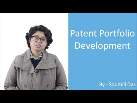 Lecture on Patent Portfolio Development