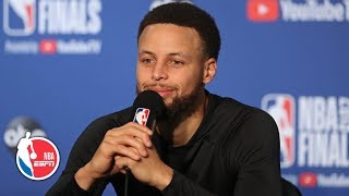 'Other players in the league know who I am' – Steph Curry | 2019 NBA Finals