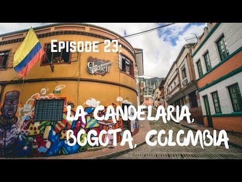 Exploring La Candelaria, Bogota, Colombia