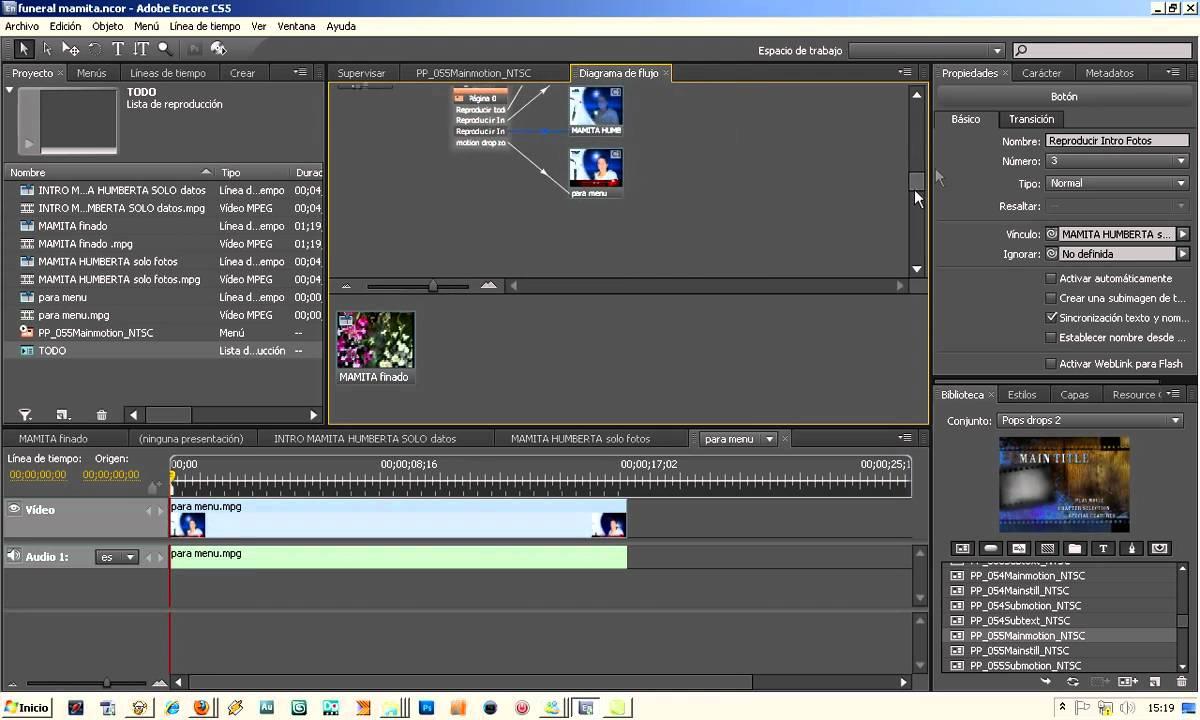 ENCORE DVD Plantillas PopDrops MOTION parte 1.mp4 - YouTube