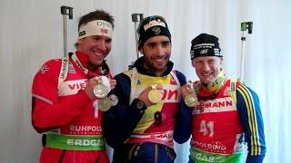 WM Sprint Männer Ruhpolding 2012