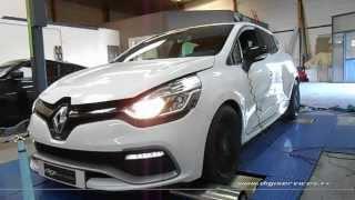* Reprogrammation Moteur * Renault Clio 4 RS 200cv @ 235cv Dyno Digiservices Marseille