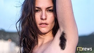 Women With Hairy Armpits Protest True Beauty