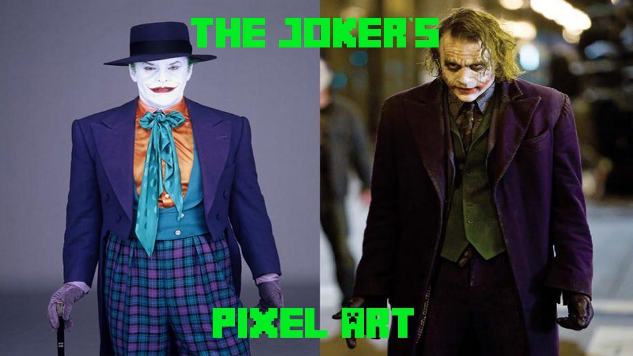 The Jokers Pixel Art