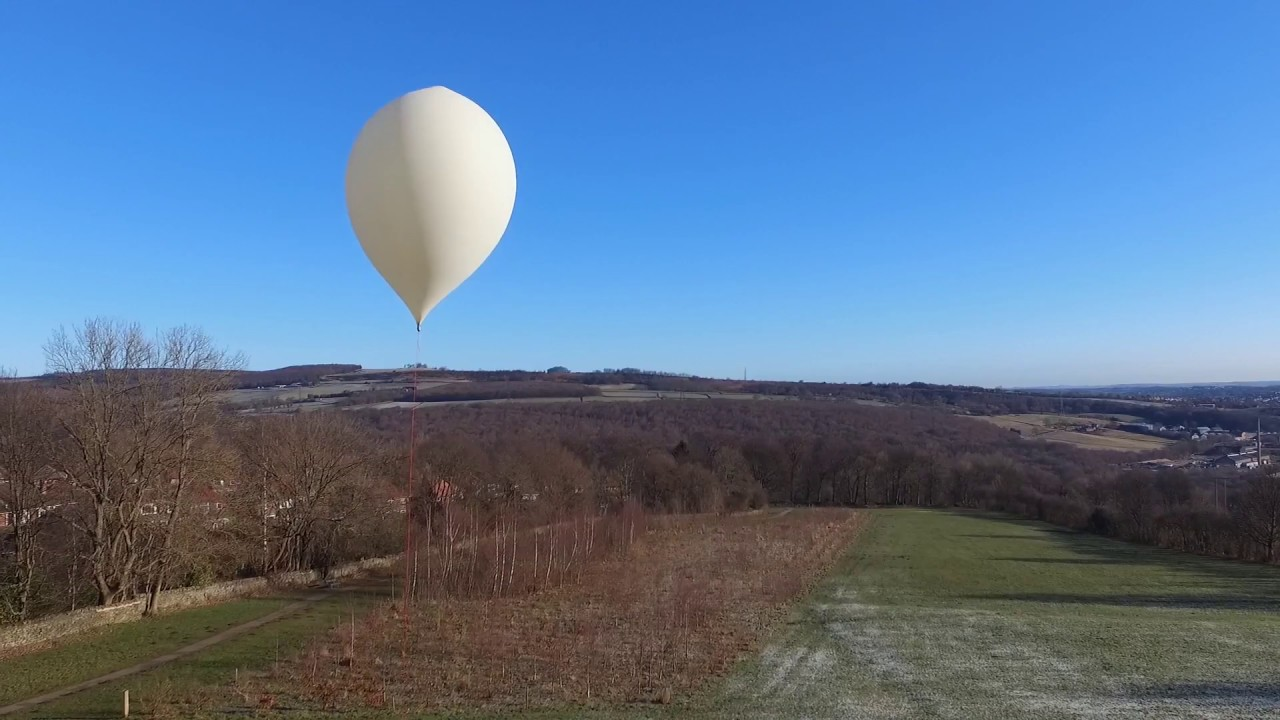 Sent Into Space - Drone Captures Space Balloon Setup