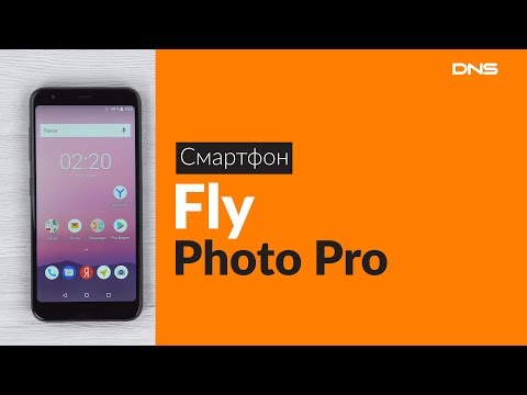 Распаковка смартфона Fly Photo Pro / Unboxing Fly Photo Pro