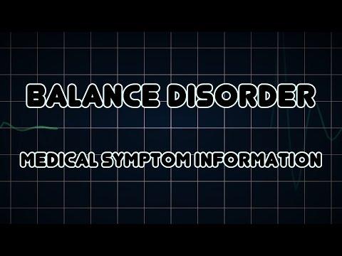 Balance disorder (Medical Symptom)