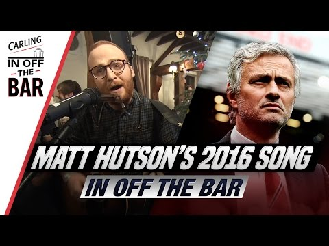"""""""Jose's lost more dressing rooms than we've lost celebrities"""" - Matt Hutson's Review of 2016 Song!"""