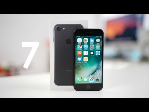 IPhone 7 Black UNBOXING And SETUP