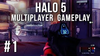 HALO 5 Guardians Multiplayer Gameplay - Walkthrough Part 1 - Beta - I'M IN LOVE