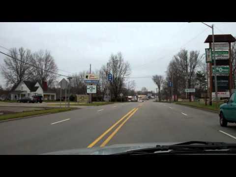 Driving through Scottsburg Indiana