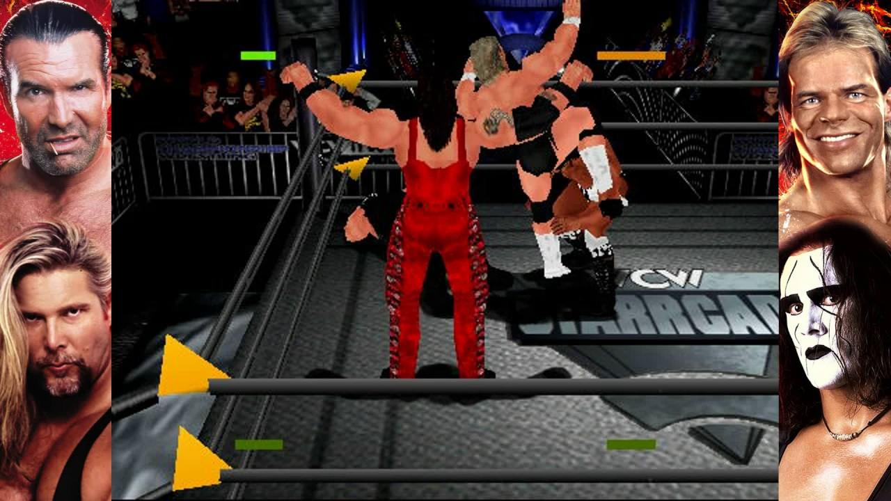 Wcw Bogus Sting: WCW NWo Revenge UnCensored Matches