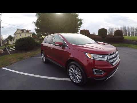 2018 Ford Edge Titanium 3.5 AWD