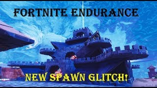 FORTNITE ENDURANCE SPAWN GLITCH Save the World Endurance Glitch