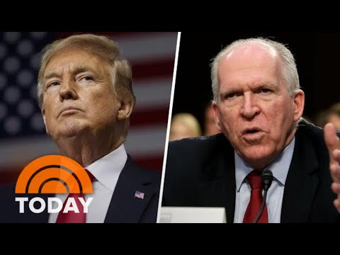 President Donald Trump Revokes Former CIA Director John Brennan's Security Clearance | TODAY