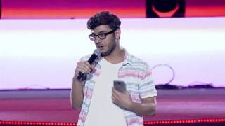 Carryminati @ YouTube FanFest India 2017