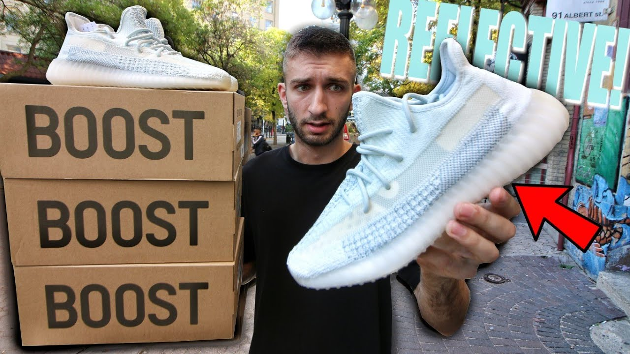 The 'Cloud White' Yeezy Boost 350 V2 is Now Live on StockX