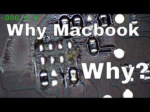 Macbook Air logic board repair PM_SLP_S4_L missing