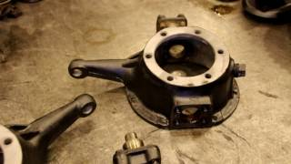 Willys steering knuckle installation, proper lubricants for Willys Jeep
