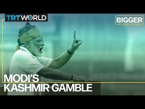 Modi's Kashmir Gamble