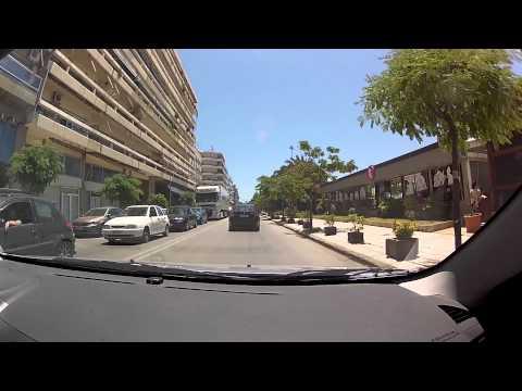 CEID to Zarouchleika (via Patras' seafront - city driving, Greece) - onboard camera