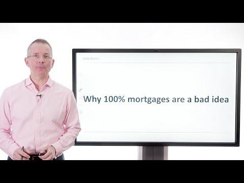 Killik Explains: Why 100% mortgages are a bad idea