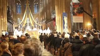ノートルダム大聖堂のクリスマス 2012