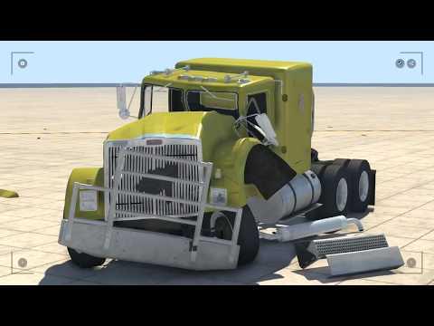 Аварии с машинками 3D мультик игра для мальчиков про тачки